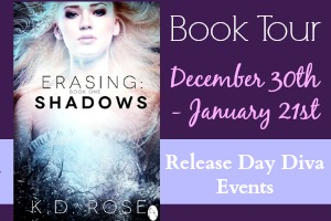 Erasing Shadows by K.D. Rose – Promo + Giveaway